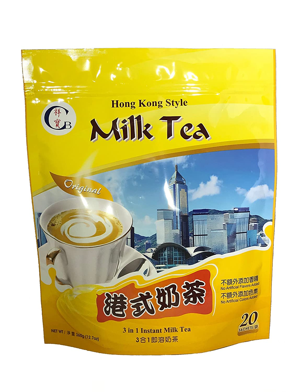 CB Hong Kong Style Instant Milk Tea 3 in 1 - Walmart.com ...