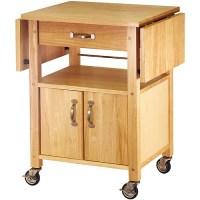 Drop-Leaf Kitchen Cart - Walmart.com