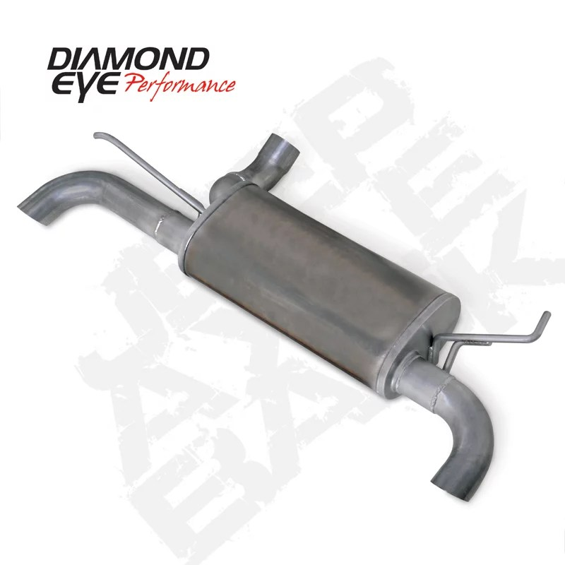 diamond eye performance k3620s exhaust system kit exhaust system kit axle back system