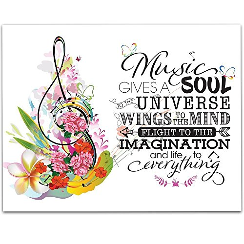 Music Gives A Soul To The Universe And Life To Everything