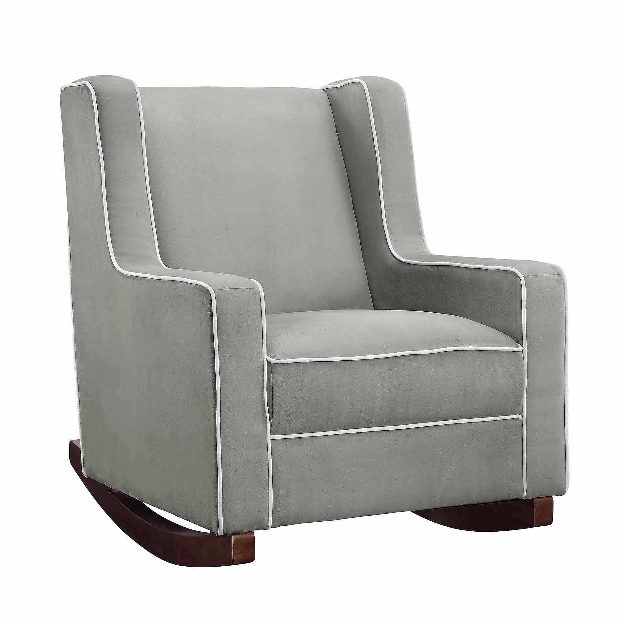 walmart rocking chair glider executive office chairs johannesburg baby relax abby rocker gray com