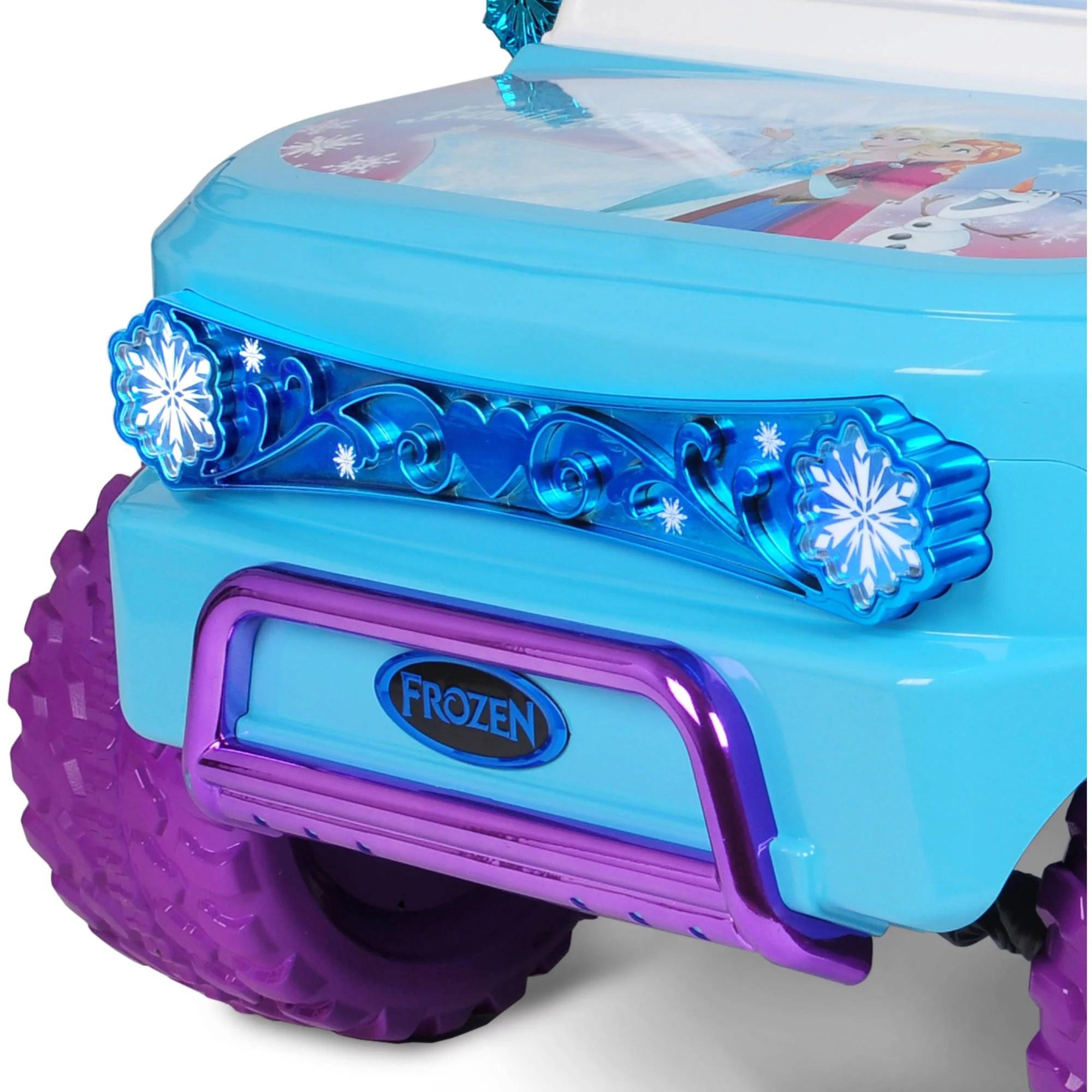 Disney Frozen SUV 12V Battery Operated Ride Walmart
