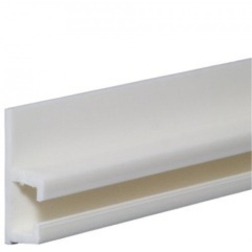 sliderite plastic curtain track 8 feet white