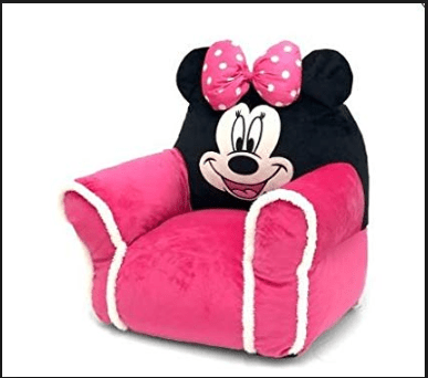 minnie mouse bean bag chair aeron drafting stool disney walmart com