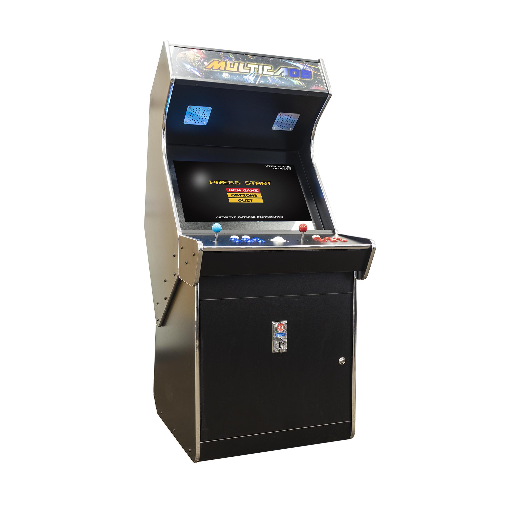 Creative Arcades Full Size Commercial Grade Cabinet Arcade