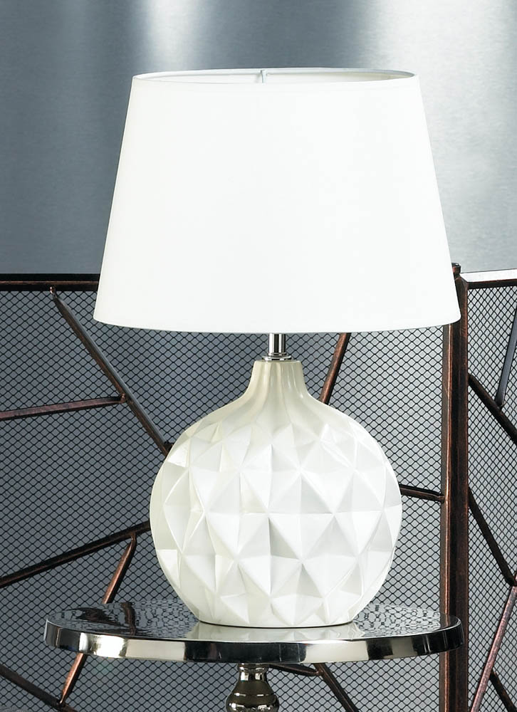 modern table lamp ceramic small bedside table lamps living room white