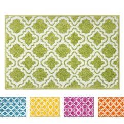 Green Kitchen Rug Kate Spade Small Mat Doormat Modern Kids Room Calipso 1 8 This Button Opens A Dialog That Displays Additional Images For Product With The Option To Zoom In Or Out