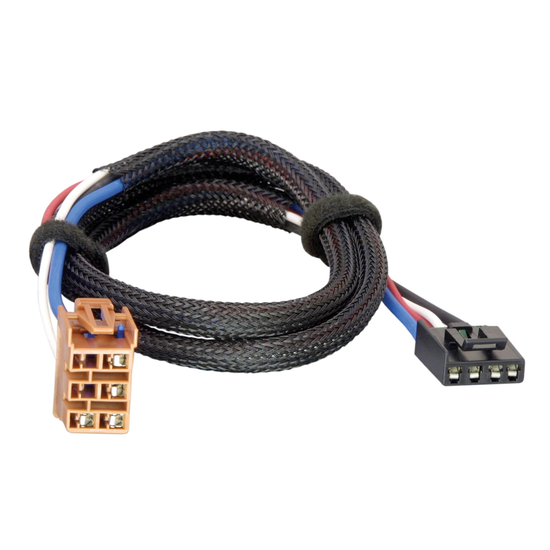 small resolution of tekonsha 3025 p trailer brake control wiring harness 2 plugs gm draw tite wiring