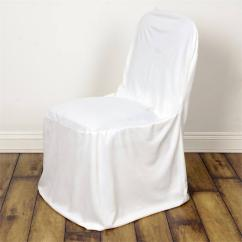Party Chair Covers Walmart Comfy For Bedroom Linen Polyester Wedding Large Banquet Cover Ivory Com