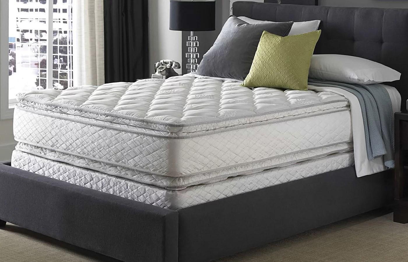 serta perfect sleeper sapphire suite double sided pillowtop mattress