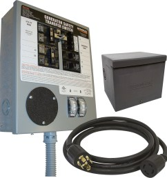 generator transfer switch kit 30 amp 6 10 circuits pre wired ob walmart com [ 2000 x 2000 Pixel ]