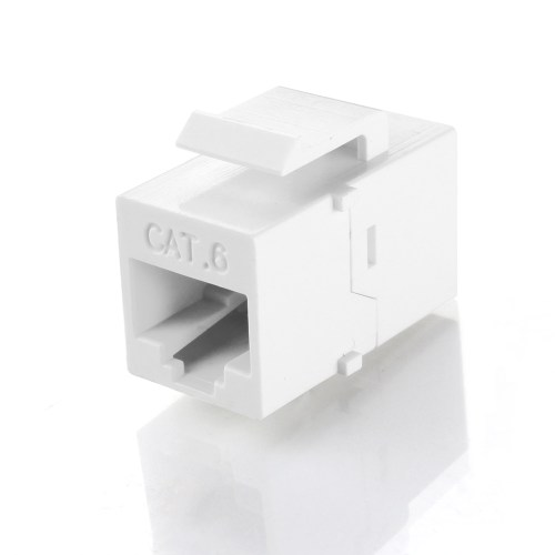 small resolution of rj45 keystone cat6 cat5e cat5 compatible 8p8c ethernet network jack insert snap in adapter connector port inline coupler for wall plate outlet panel