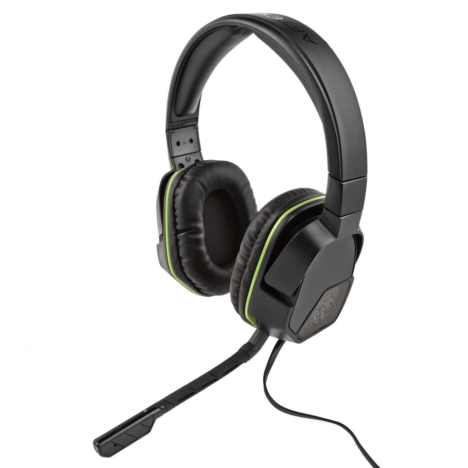 pdp xbox one afterglow lvl 3 stereo gaming headset black 048 041 headset for [ 1500 x 1500 Pixel ]