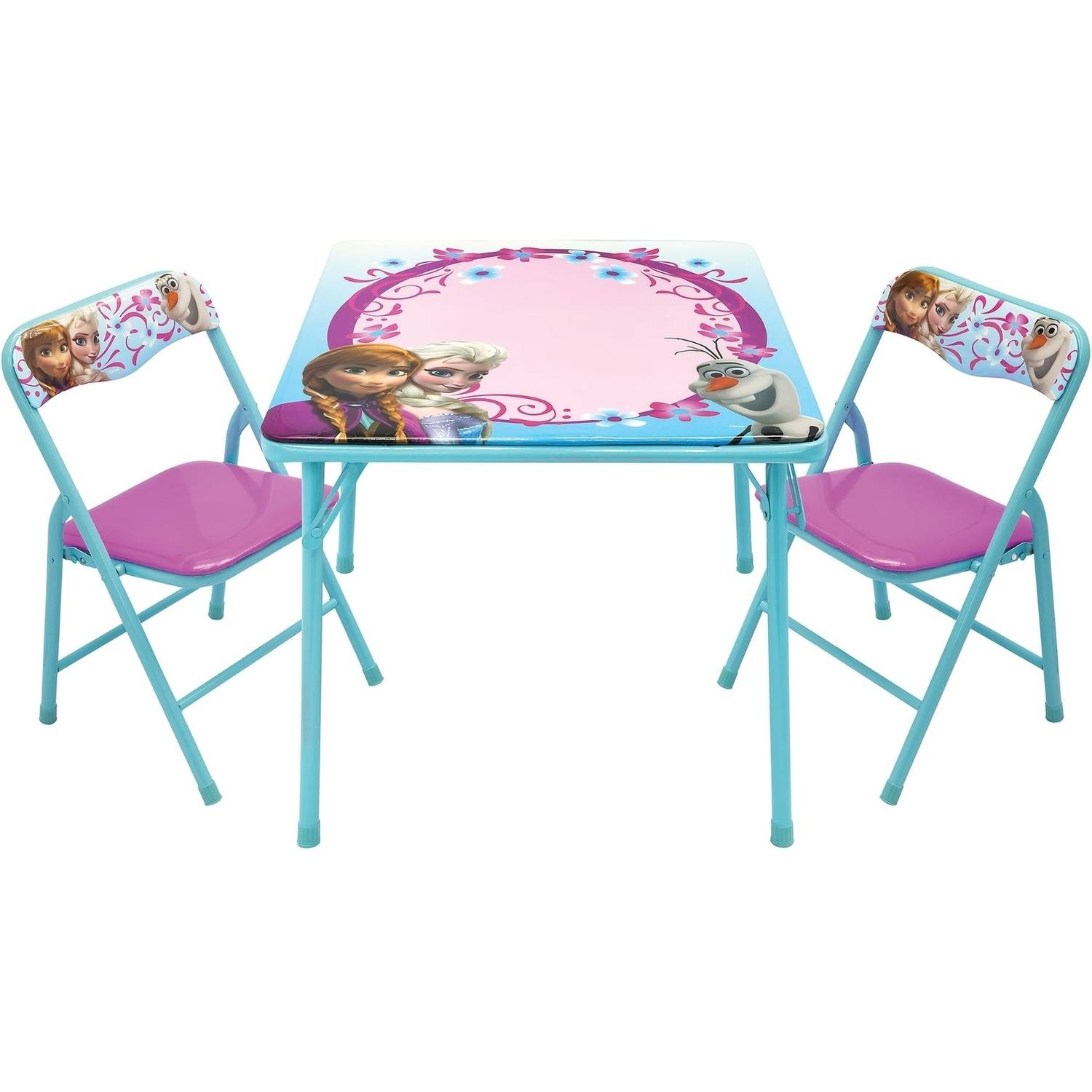 Activity Chair Disney Frozen Erasable Activity Table Set With 3 Markers