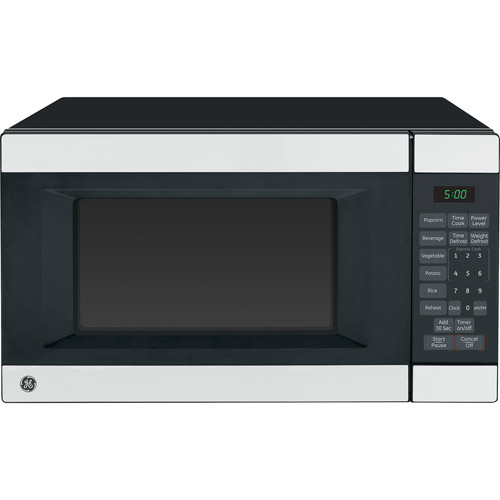 general electric stainless steel microwave oven