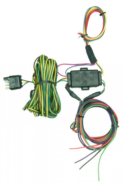 hight resolution of hopkins mfg 55999 towed vehicle wiring kit universal 4 way flat walmart canada