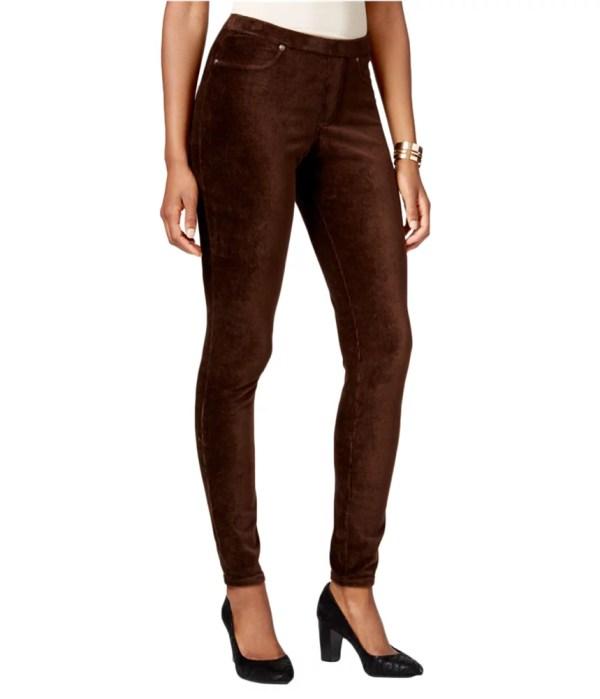 Style&. Womens Corduroy Casual Leggings
