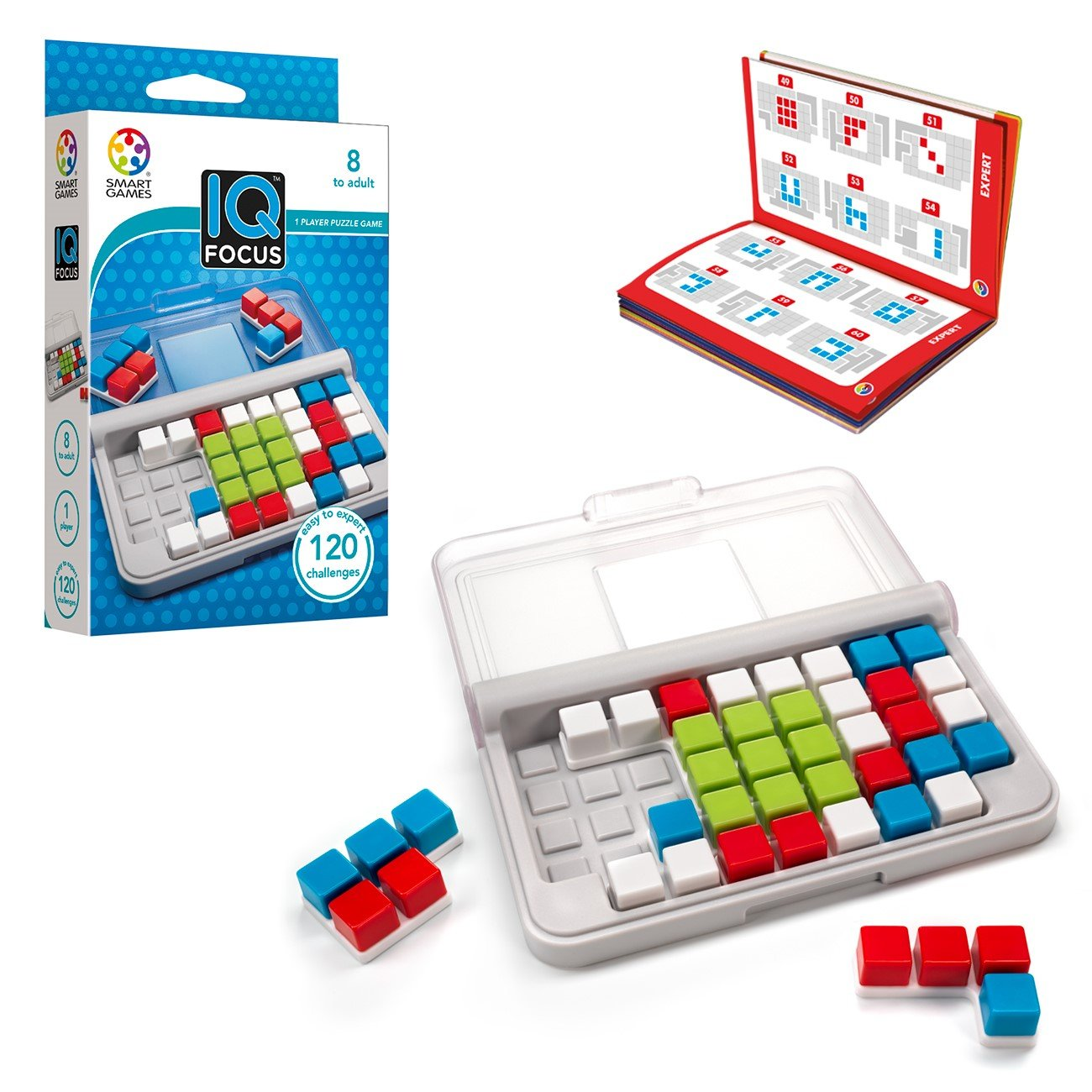Smartgames Iq Focus Skill Building Travel Game For Ages 8