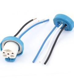 car headlight bulb 9004 socket wiring wire harness connector adapter 2pcs walmart com [ 1100 x 1100 Pixel ]