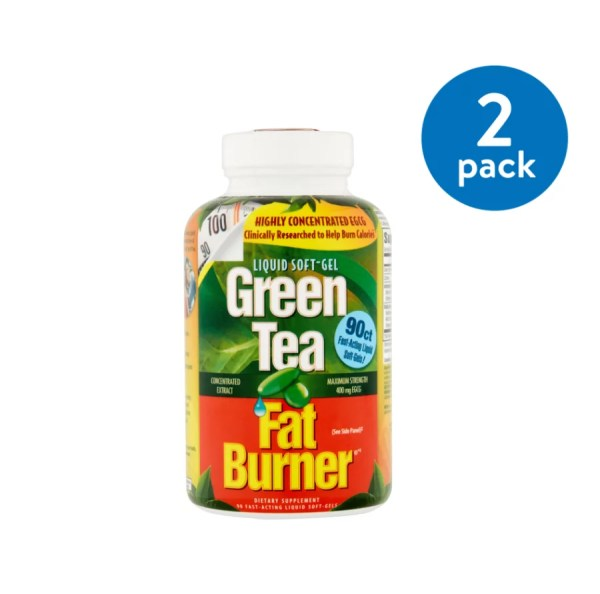 2 Boxes Applied Nutrition Green Tea Fat Burner 90 Ct