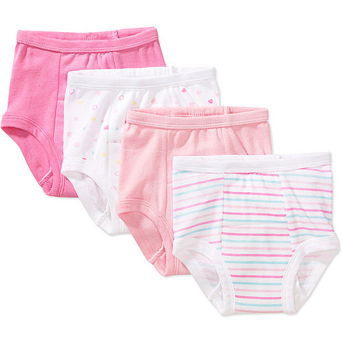 Baby Girls Training Pants 4Pack  Walmartcom
