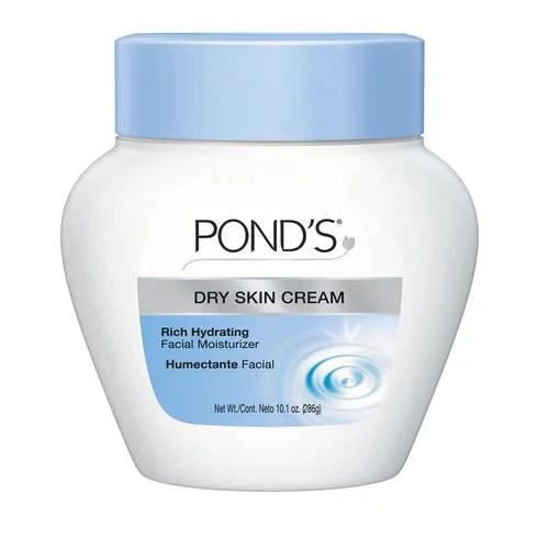 Pond's Hydrating Cream Face Moisturizer, 10.1oz, (Dry Skin)