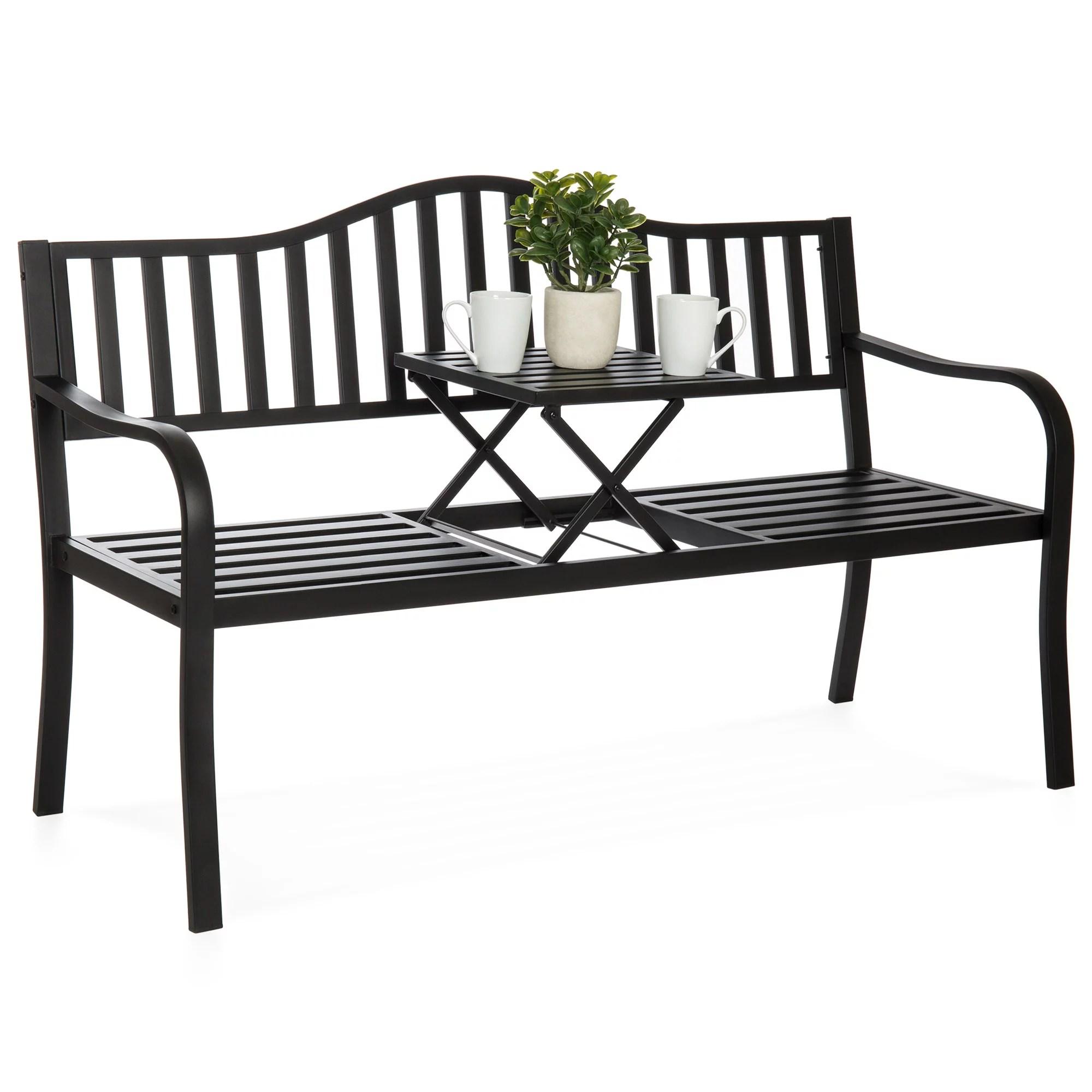 outdoor metal benches walmart com