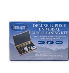 gunmaster 42 piece deluxe universal cleaning kit in wooden case walmart com [ 1500 x 1500 Pixel ]