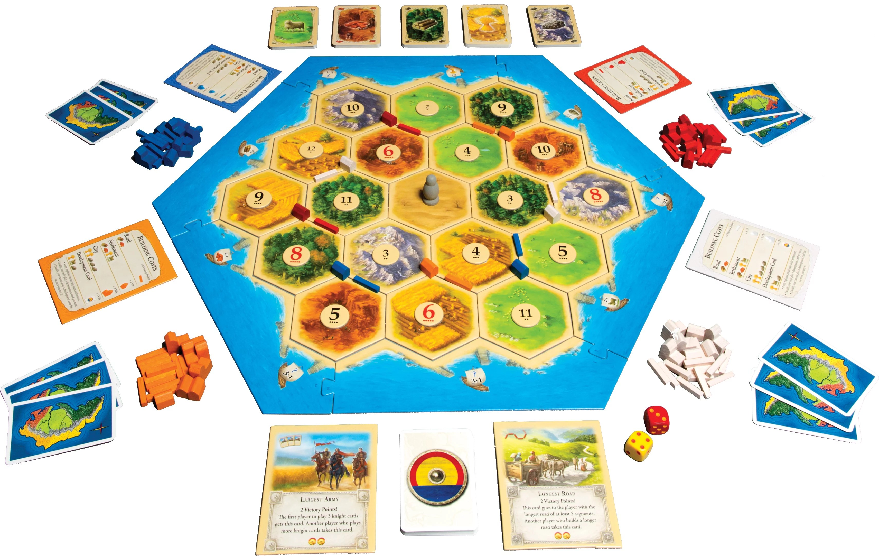 catan strategy board game