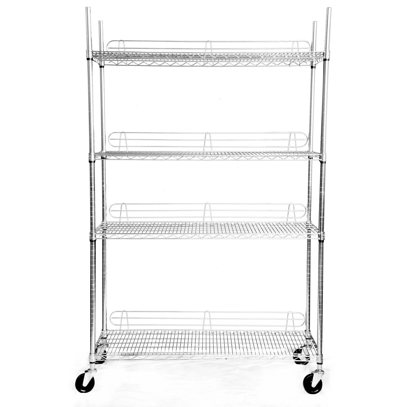 Trinity 4 Tier Heavy Duty Nsf Ecostorage Wire Shelving
