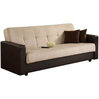 Preston Two-Tone Sofa Sleeper with Storage - Walmart.com