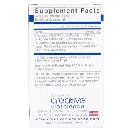 كرياتيف بيوساينس hCG 1234 لتخفيف الوزن الغذائي ، 2 أونصة سائلة كرياتيف بيوساينس hCG 1234 لتخفيف الوزن الغذائي ، 2 أونصة سائلة ed98efae 3976 4615 929a c53456547585 1