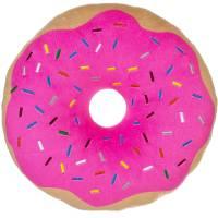 Pink Donut Plush Photo Real Pillow - Walmart.com