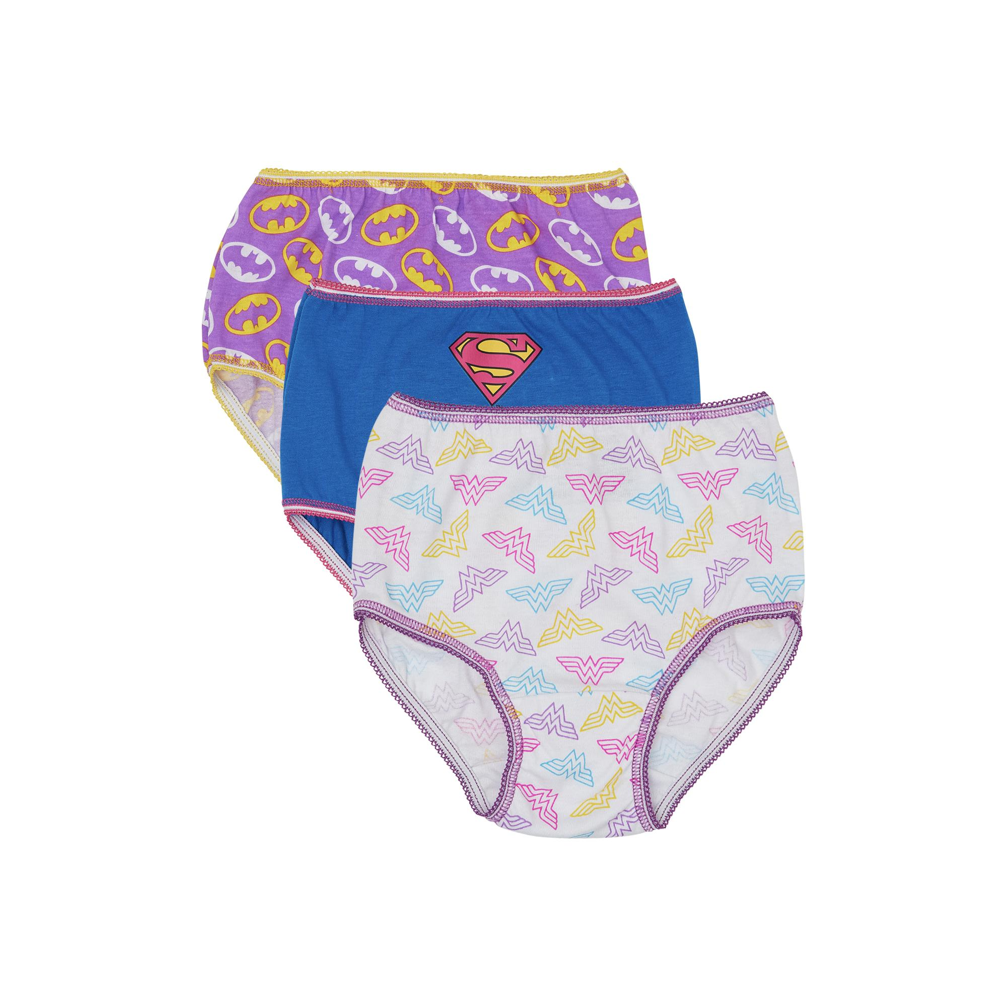 justice league underwear panties