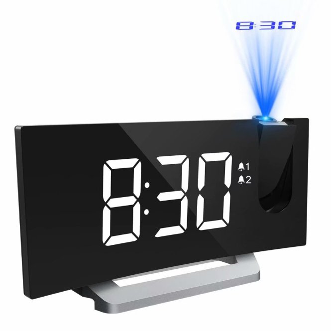 Alarm Clock With 5 Inch Led
