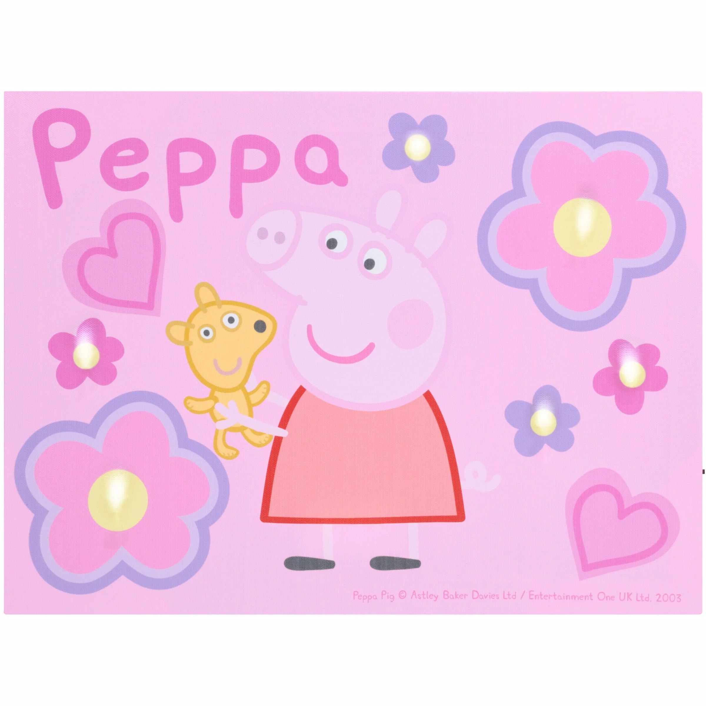 peppa pig peppas pond shower curtain 1 each