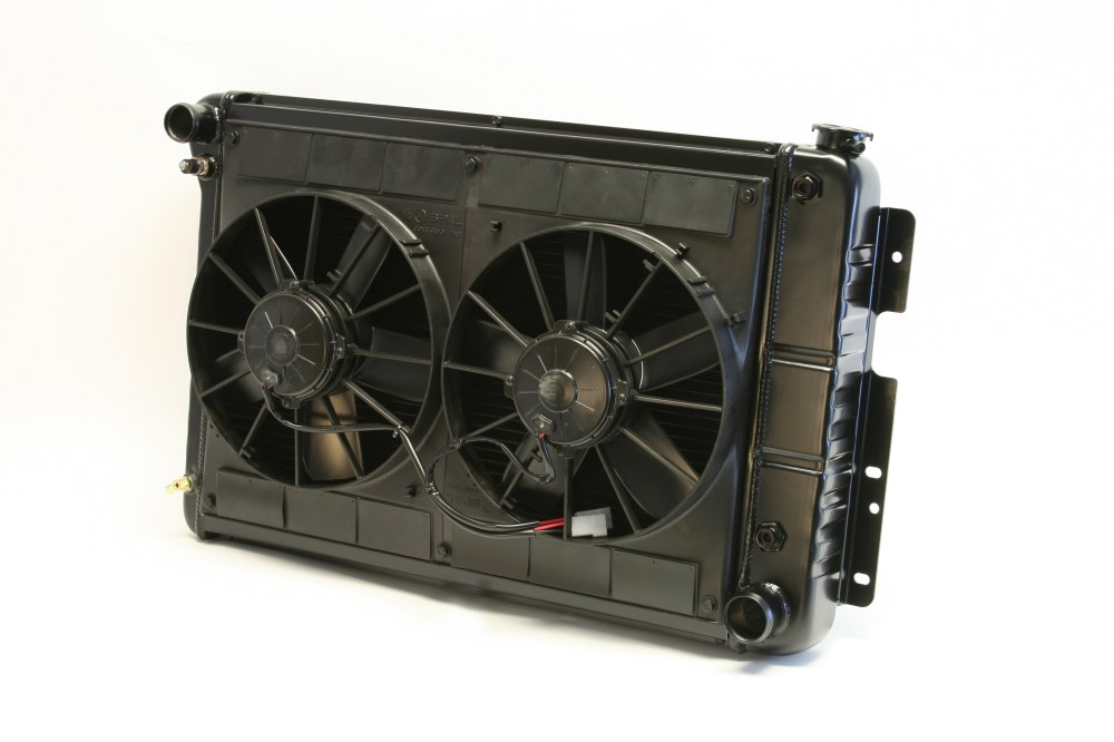 medium resolution of dewitts for 1967 69 camaro bb 23 5 core cf auto dual 11 spal fans wiring radiator walmart com