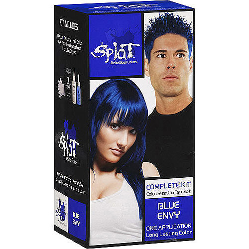 splat 30 wash hair dye kit semi-permanent