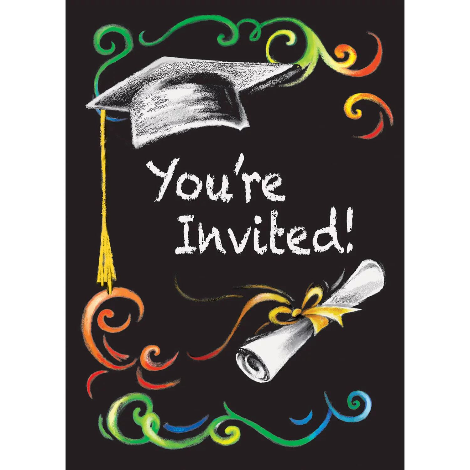graduation invite cards