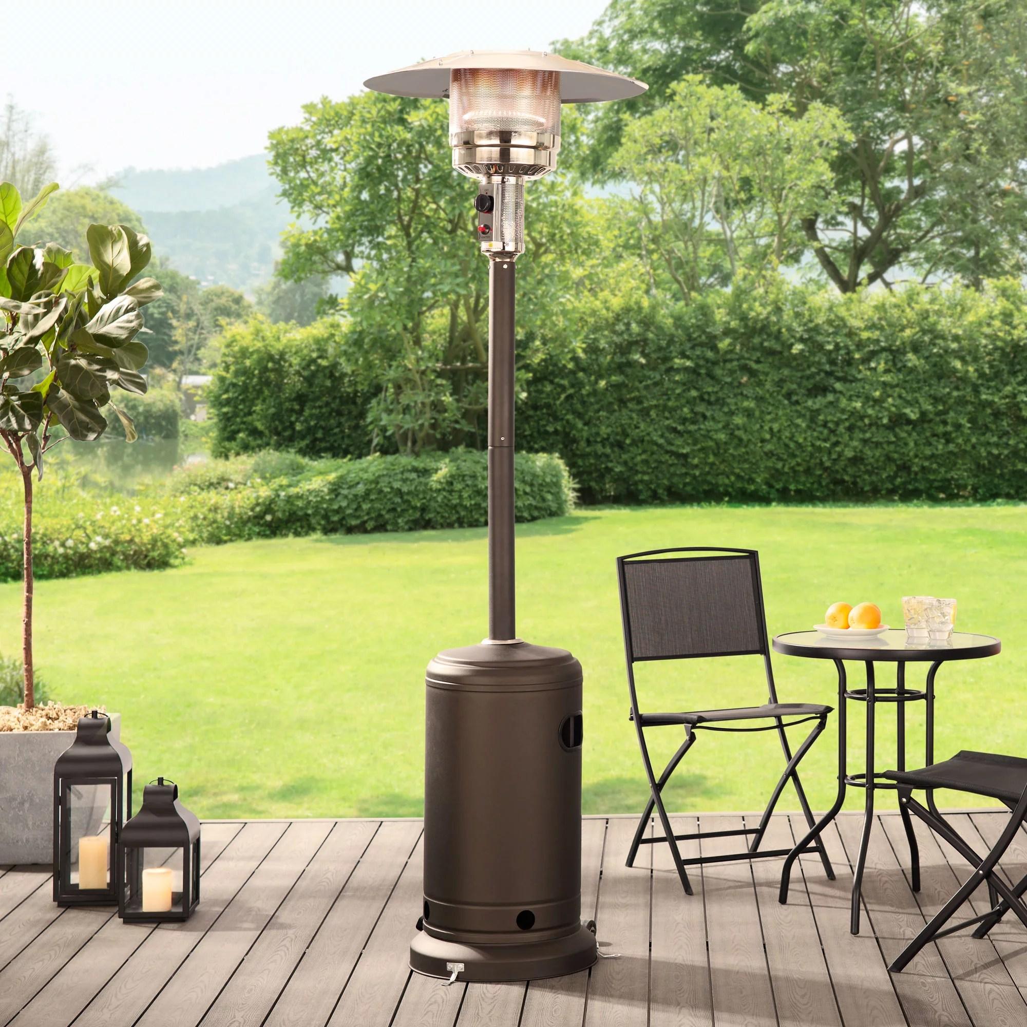 outdoor patio heater 7 foot 48 000btu