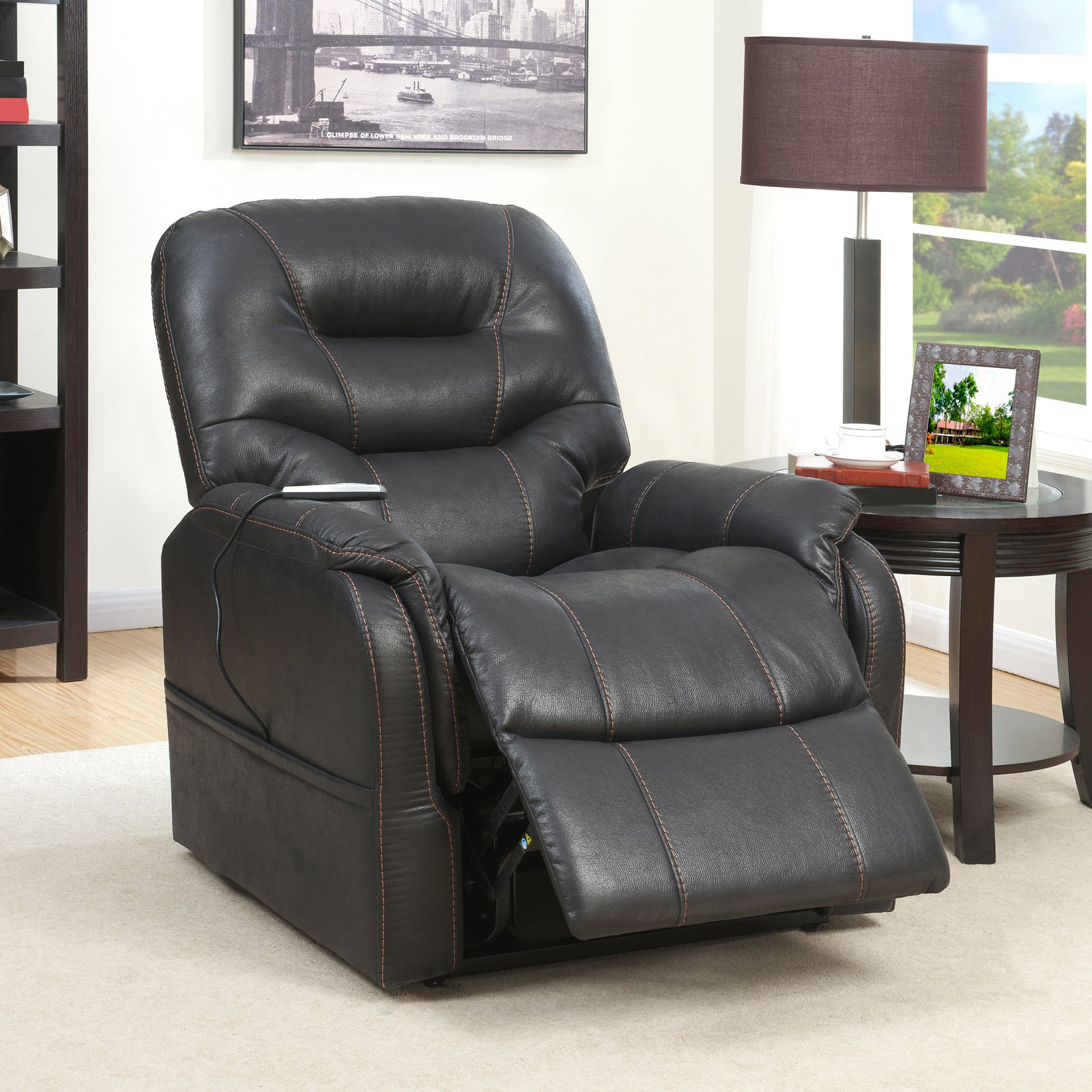 lift chairs walmart fold up costco prime resources heat and massaging chair in badlands