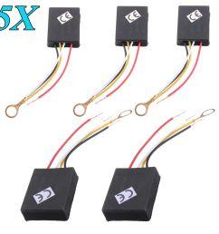 5pcs ac110v 240v 3 way touch switch control sensor bulb dimmer parts for table desk light lamp walmart com [ 1200 x 1200 Pixel ]