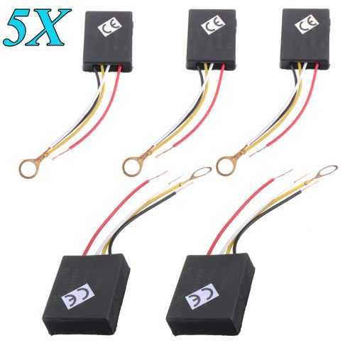 small resolution of 5pcs ac110v 240v 3 way touch switch control sensor bulb dimmer parts for table desk light lamp walmart com