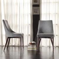 iNSPIRE Q Sasha Mid-century Grey Fabric Upholstered ...