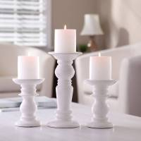 Better Homes and Gardens Ceramic Pillar Candle Holders ...