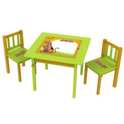 Scooby Doo Chair Children Table And Chairs O Kids Inc 3 Piece Arts Crafts Set Walmart Com