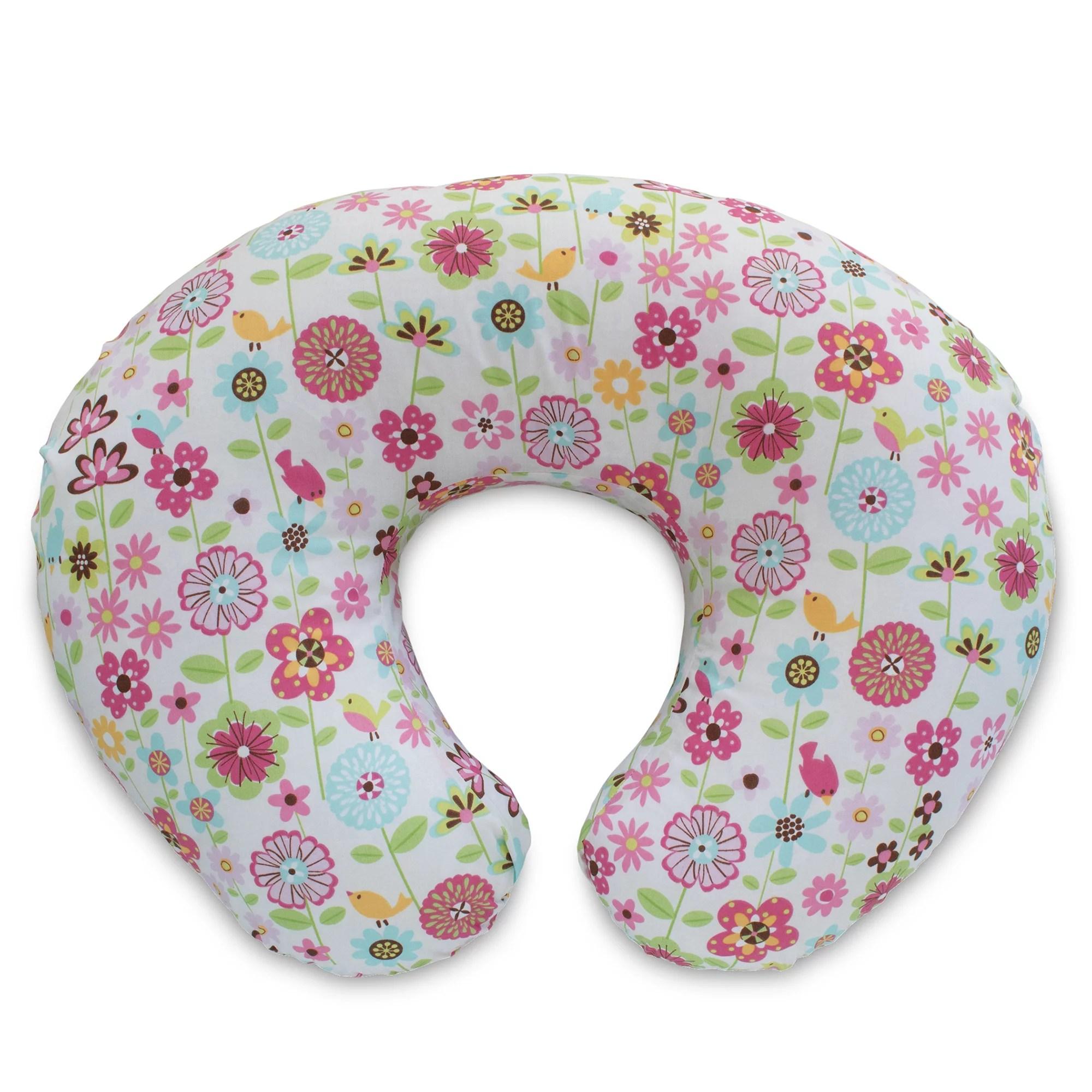 original boppy nursing pillow and positioner backyard blooms walmart com