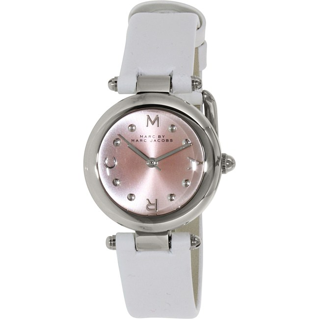 Marc by Marc Jacobs Women's Dotty MJ1411 White Leather Quartz Fashion Watch
