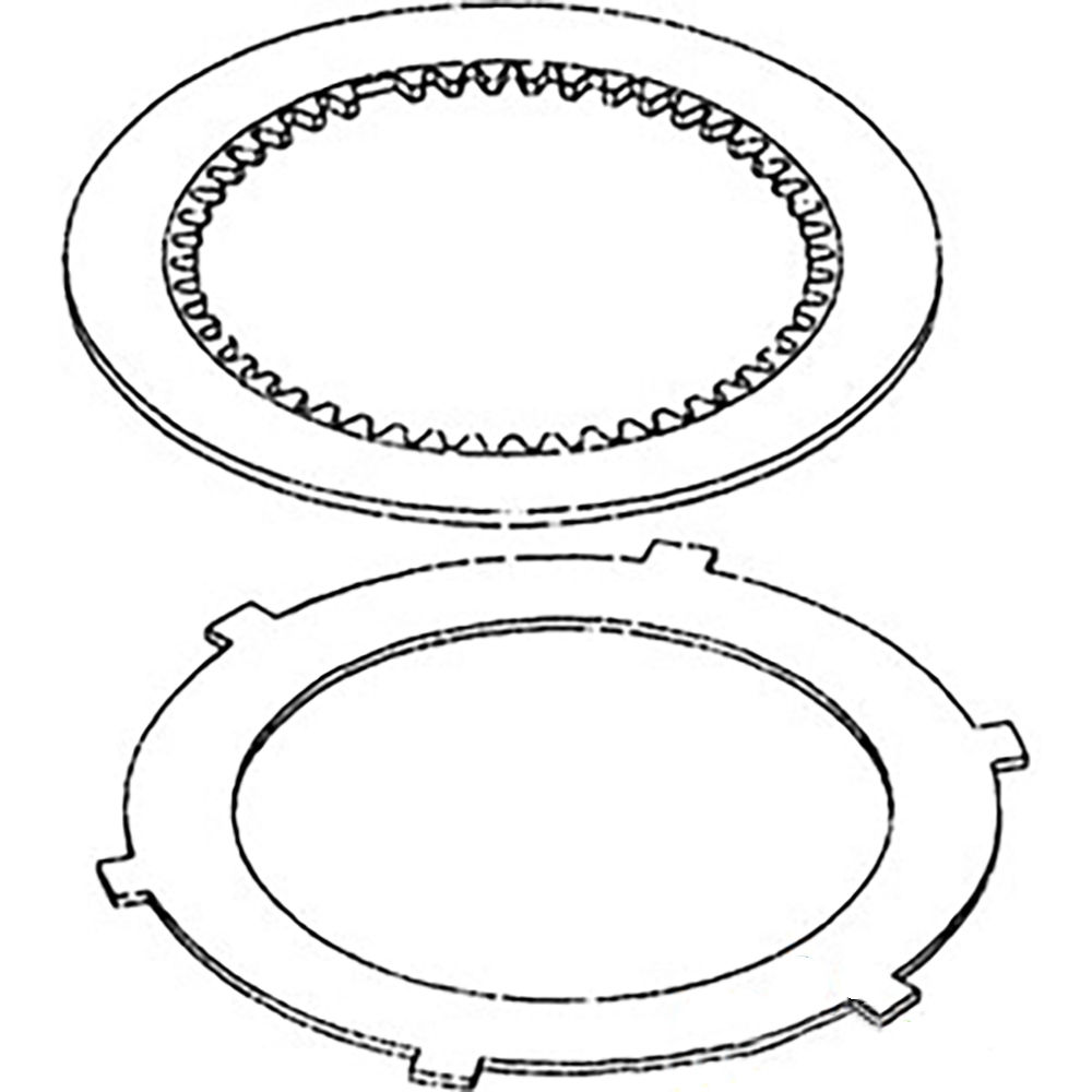 68802C1 New Case-IH Tractor PTO Clutch Disc Kit 1026 1066