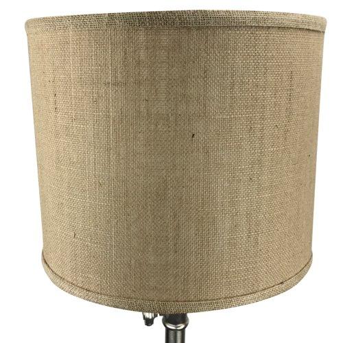 Fenchel Shades 12'' Burlap Drum Lamp Shade